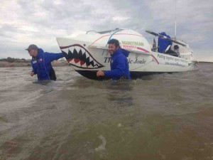 Hauling boat small size