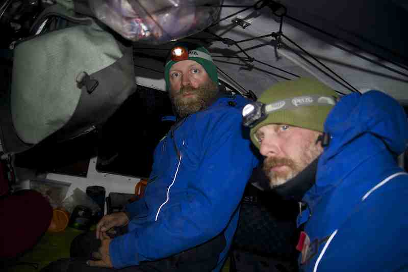 Frank and Kevin ready for night row small